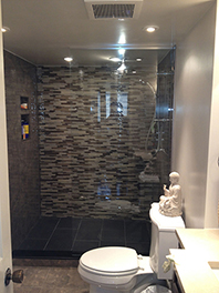 Custom Shower Glass Enclosure