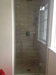 Custom Inline Shower Glass