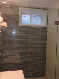 Inline Shower Glass