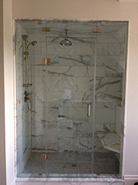 Panel and Door Shower