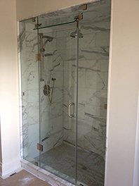 Stream Shower Glass Enclosure