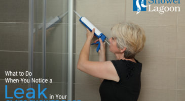 Do When You Notice-a Leak in Your Glass Shower Door