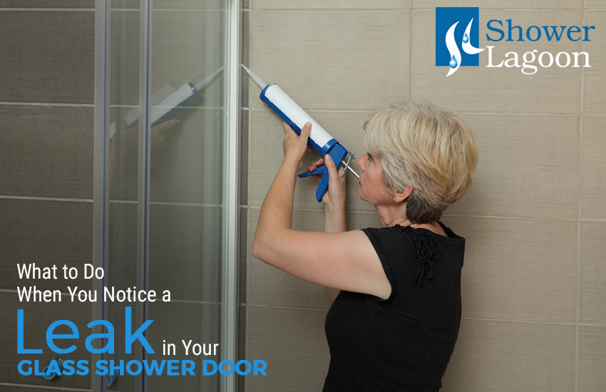 What To Do When You Notice A Leak In Your Glass Shower