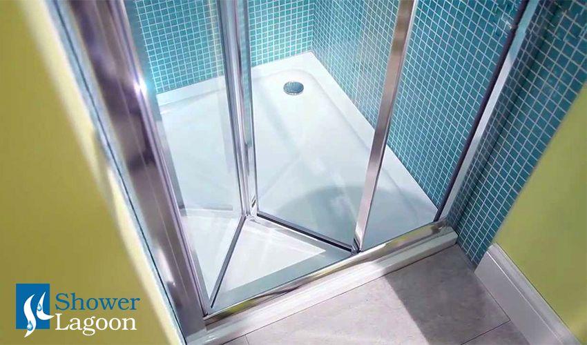 Bi-fold Door Shower Enclosure