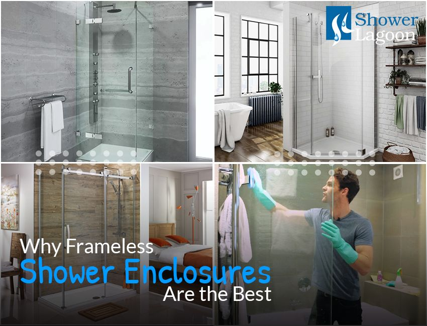 Why Frameless Shower Enclosures Are the Best - Shower Lagoon