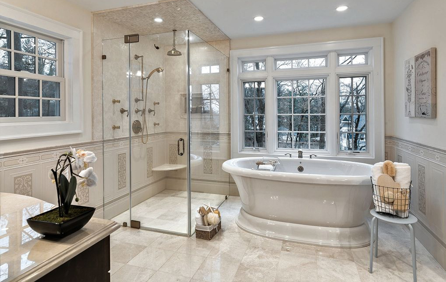Shower Lagoon - Be Smart with the Space