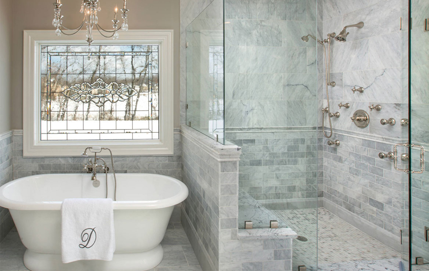 Shower Lagoon - Pick Out Stylish Surfaces