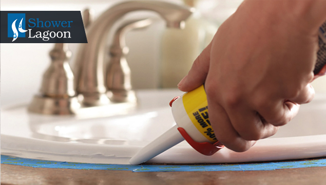 sink caulking