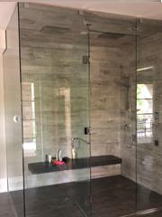 Custom Steam Shower Glass Enclosure sm