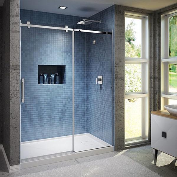 Clean shower doors