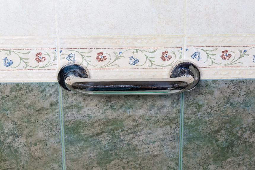 Mount Grab Bars to Wall Studs