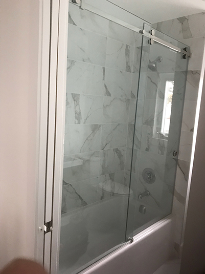 Bathtub Shower Glass Slider