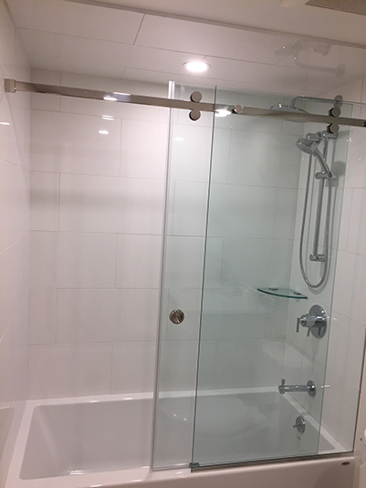 Bathtub Slider Shower