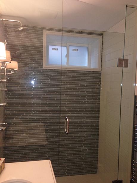 Inline Shower Glass