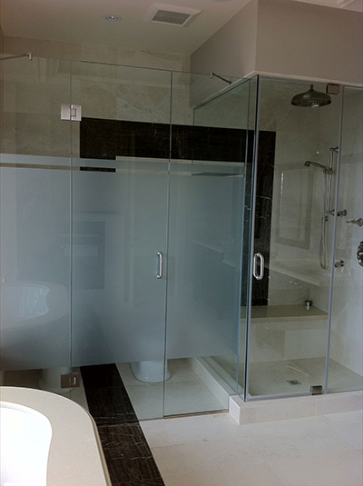 Shower Glass With Header